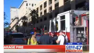 Parking Garage Fire in Fla. Forces Downtown Evacuation