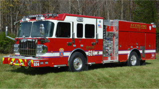 Sterling, Va., Volunteers Get Two New Pumpers