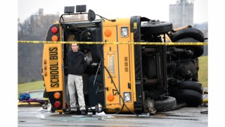 Two Kids, Adult Killed as Buses Collide in Tenn.