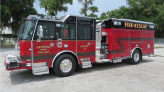 Tramway, S.C., FD Puts Engine 24 in Service