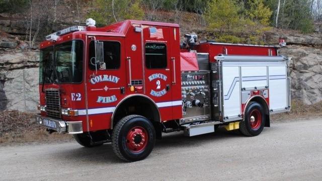 Colrain, Mass. Takes Delivery of Unique 4X4 Rescue Pumper