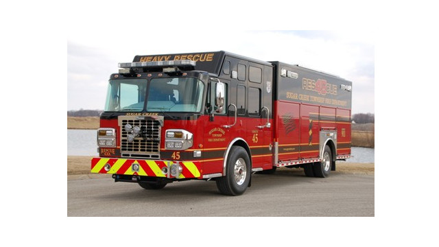 Sugar Creek Twp., Ind., Take Delivery of a Showpiece Rescue
