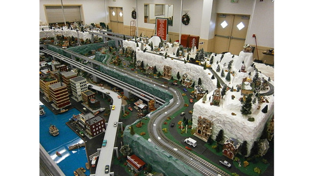 All Aboard for Train Gardens at Md. Fire Museum, Stations