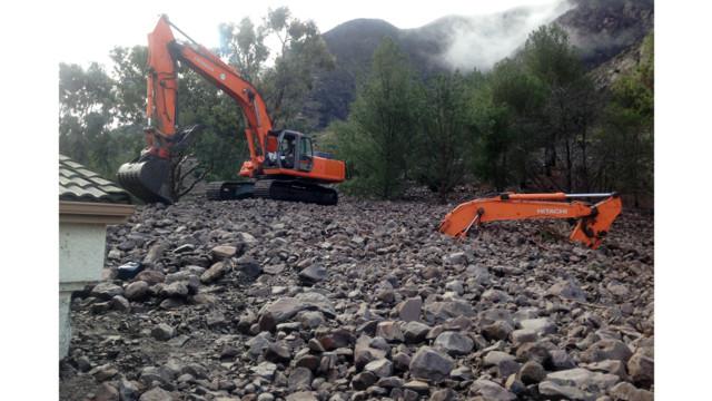 Powerful Storm Creates Mudslides in California