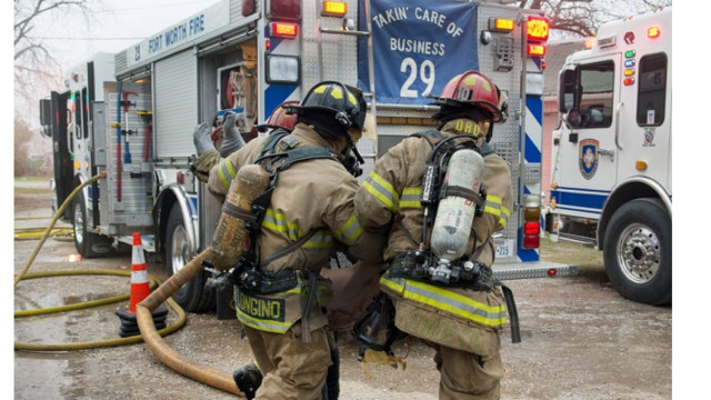 Fort Worth Firefighters Rescue Man from Fire