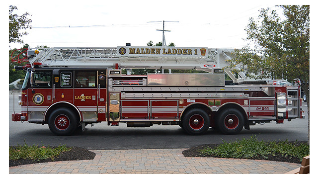 Malden, Mass., Puts Ladder 1 in Service