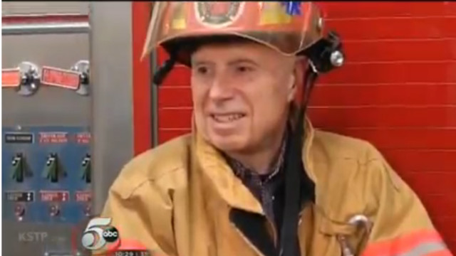 After 52 Years of Service a Minn. Vol. Firefighter Retires