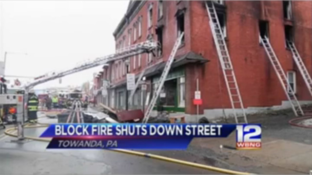 Rare 4-Alarm Fire Hits Downtown Pa. Building