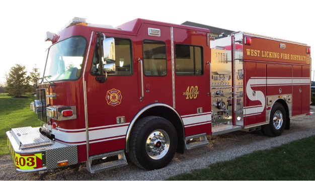 West Licking, Ohio, Joint Fire District Gets Custom Pumper