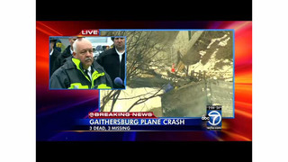 Md. Fire Chief Talks about Plane Crash