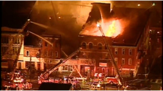 Several Buildings Burning in Pa. Town
