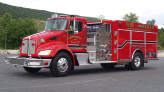 Vols. in N. Georgetown, Ohio, Get New Pumper