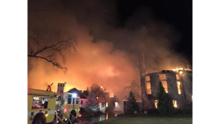 Six Missing Following Md. Mansion Blaze; Search Suspended