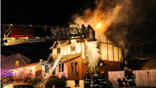 Photo Story: N.J. Firefighter Loses Home to Fire