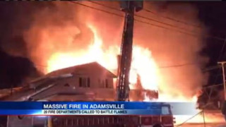 Blaze Destroys Multiple Pa. Buildings