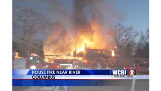 Miss. Firefighter Loses Home to Fire