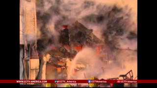 Warehouse Fire, Collapse Kills Five Firefighters