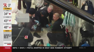 Child Falls from Escalator in Ind. Store