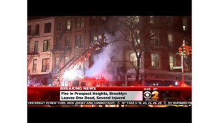 FDNY Firefighters Battle Brooklyn Blaze