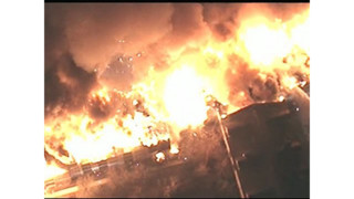 Raw: Massive Fire at NJ Apartment Building