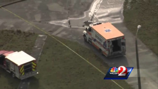 Raw: Plane crash in Lakeland