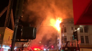Four Alarmer Hits San Fran Building