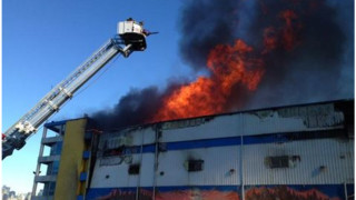 Icy FDNY Crews Battle Six-alarm Warehouse Blaze