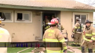 Calif. Firefighters Rescue Three Kids from Fire