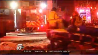 Minneapolis Crews Rescue Woman