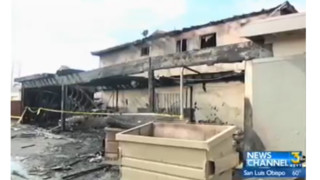 33 Displaced After Fire Destroys Calif. Apartment Complex