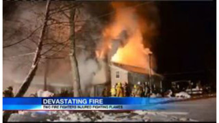 Pa. Firefighters Fall Through Floor