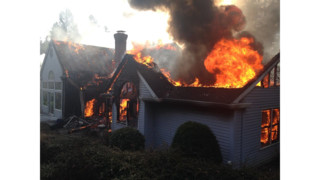 Photo Story: Pilot Reports Ore. House Fire
