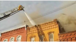 Cooking Fire Spreads Through N.Y. Building
