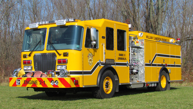 New Engine Arrives in Lewisburg, Pa.