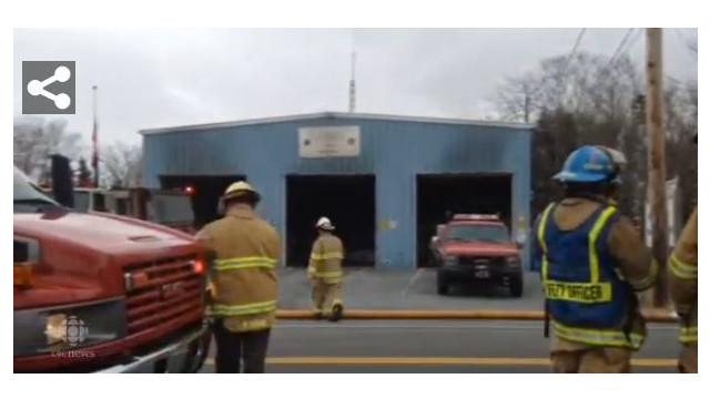 Fires Hit Texas, Nova Scotia Fire Stations