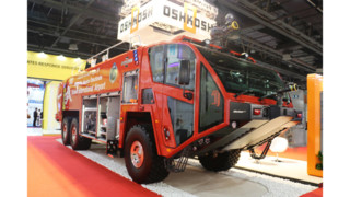 Oskhosh ARFF Striker Featured at Dubai Trade Show