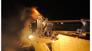 Photo Story: N.J. Fire Ravages Two Homes
