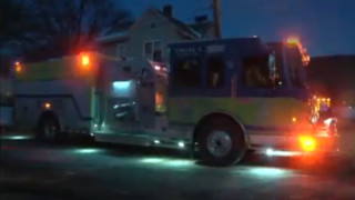 Pa. Firefighters Battle Structure Fire