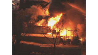 Tire Warehouse Burns Near BWI Airport