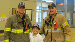 Impressed by Teen, Decatur Firefighters Reach Out
