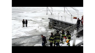 FDNY Rescues Teens From Ice