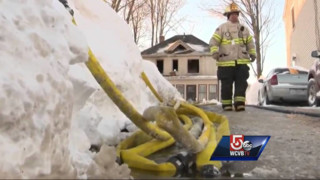 Mass. Firefighters Encounter Backdraft Hours After Tackling Fatal Blaze