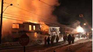 Photo Story: Blaze Destroys Historic Pa. Mill