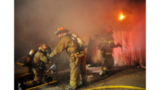 Photo Story: Texas Crews Squelch Garage Fire