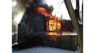 Photo Story: Blaze Engulfs Md. Townhome