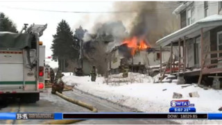 Fire Destroys Pa. House