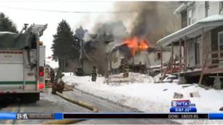 Fire Destroys Pa. House