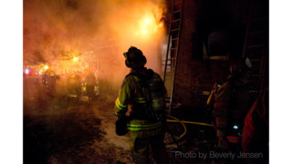 Photo Story: Md. Fire Reaches Two Alarms