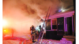 Photo Story: Fire Spreads to Attic of Minn. Home