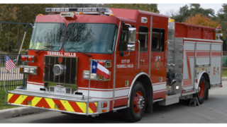 Terrell Hills, Texas, Gets First Custom Cab Pumper